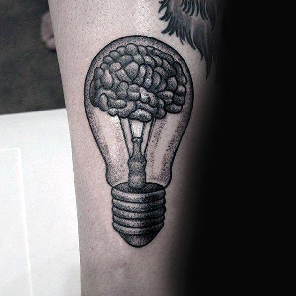 75 light bulb tattoo designs for men bright ink ideas tattoo inspiration pinterest. Black Bedroom Furniture Sets. Home Design Ideas