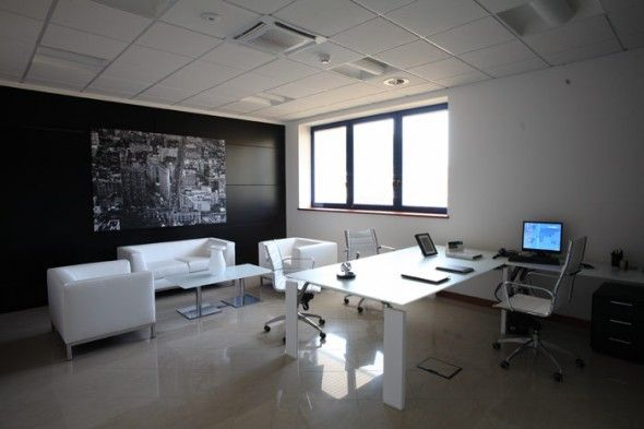 Stylish And Luxurious Executive Suite Interior Design Of GIu0026E Office In  Italy