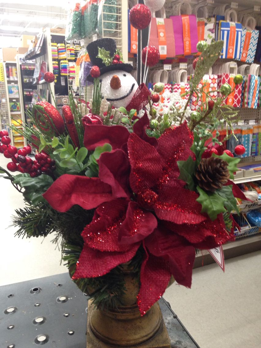Christmas arrangement decoraci n del hogar pinterest for Decoracion christmas navidenos