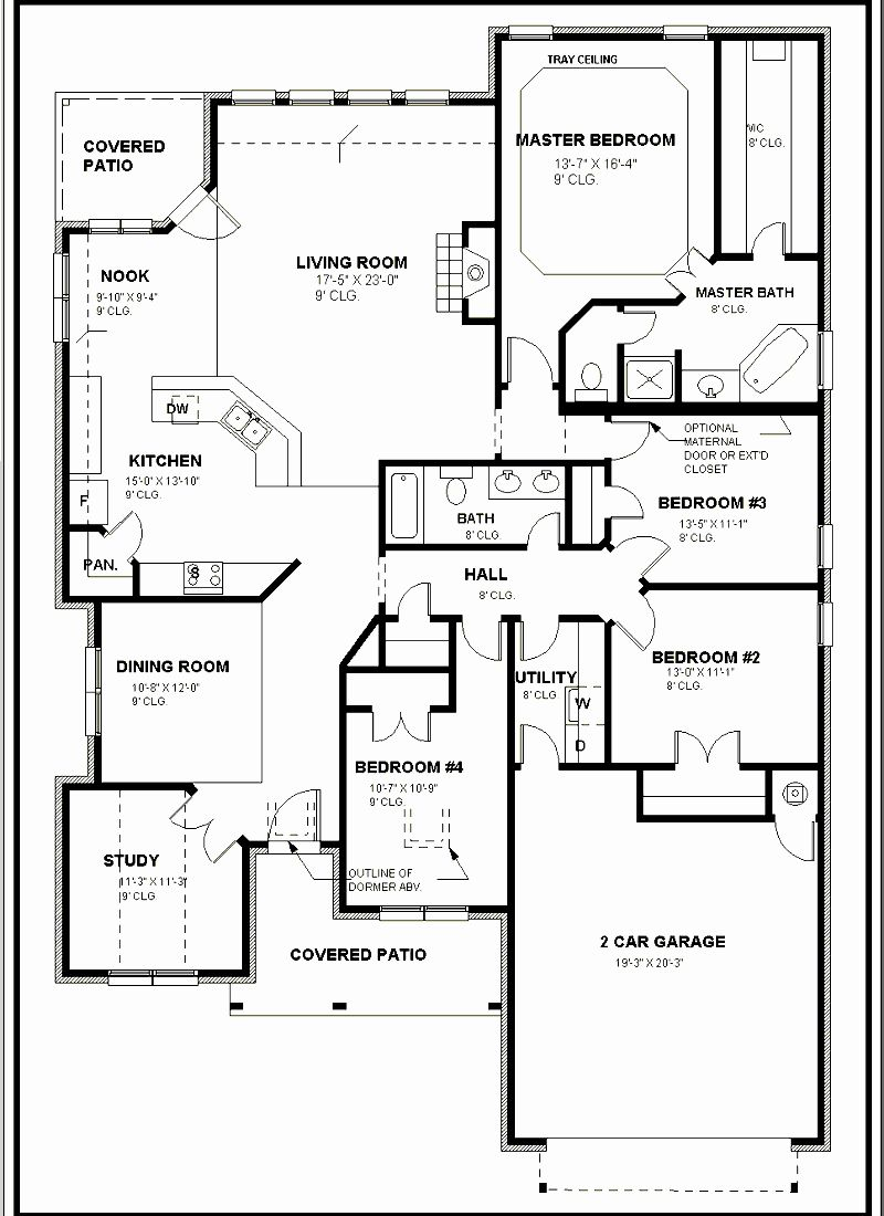 How To Draw A Floor Plan For A House Free Floor Plans Floor Plan Drawing Floor Plans