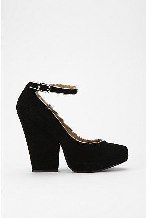a037c52f5d88 Gold lined black suede wedges