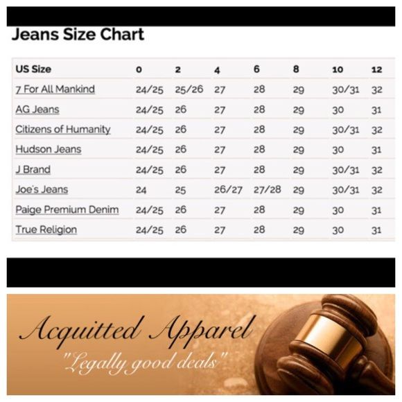 Jeans size chart since  sell all sizes for you ladies who don   know the inch to usa standard conversion also rock revival my style in rh pinterest