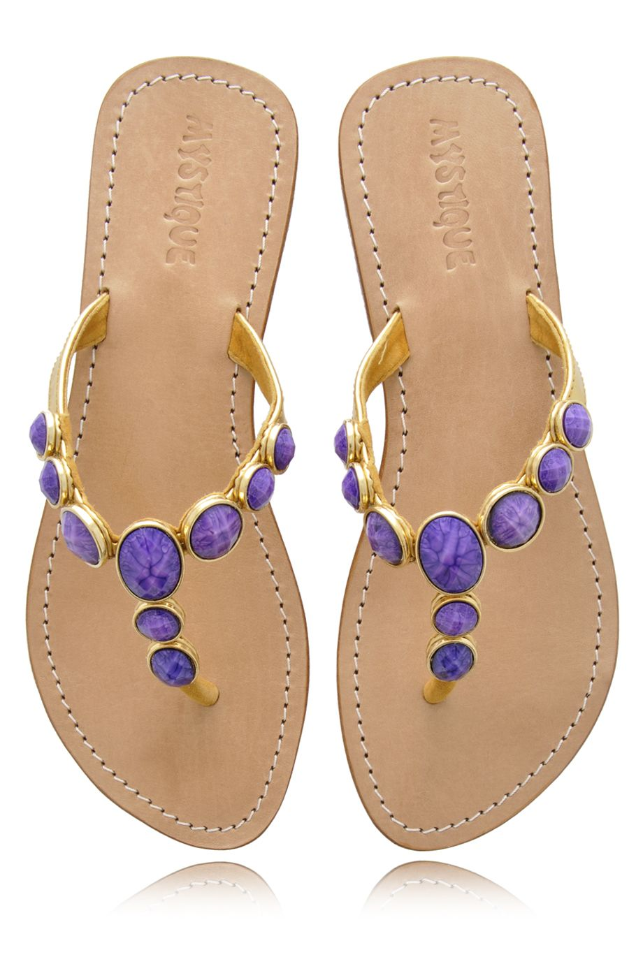 86b33e3143f568 Purple Jeweled Sandals