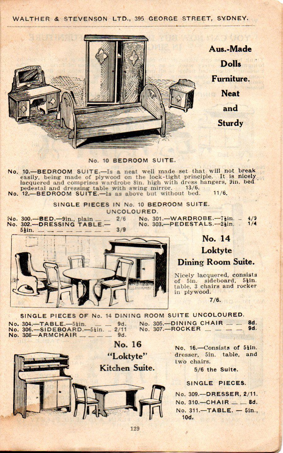 Metal Art Deco Dolls House Furniture   Google Search