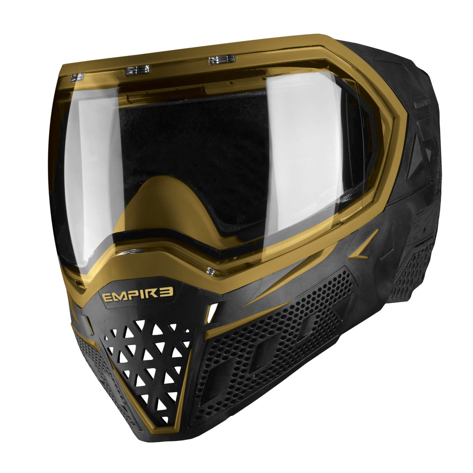 Empire EVS Thermal Paintball Goggles Black Gold