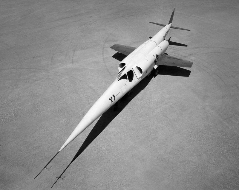 X-3 Stiletto X Plane