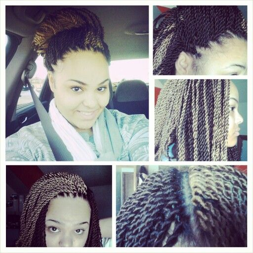 My crochet senegalese twists Crotchet braids Pinterest Senegalese ...