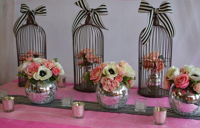 Modern Wedding Theme - Black, White, Pink