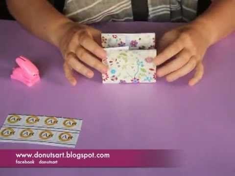 Como hacer una bolsa regalo - YouTube