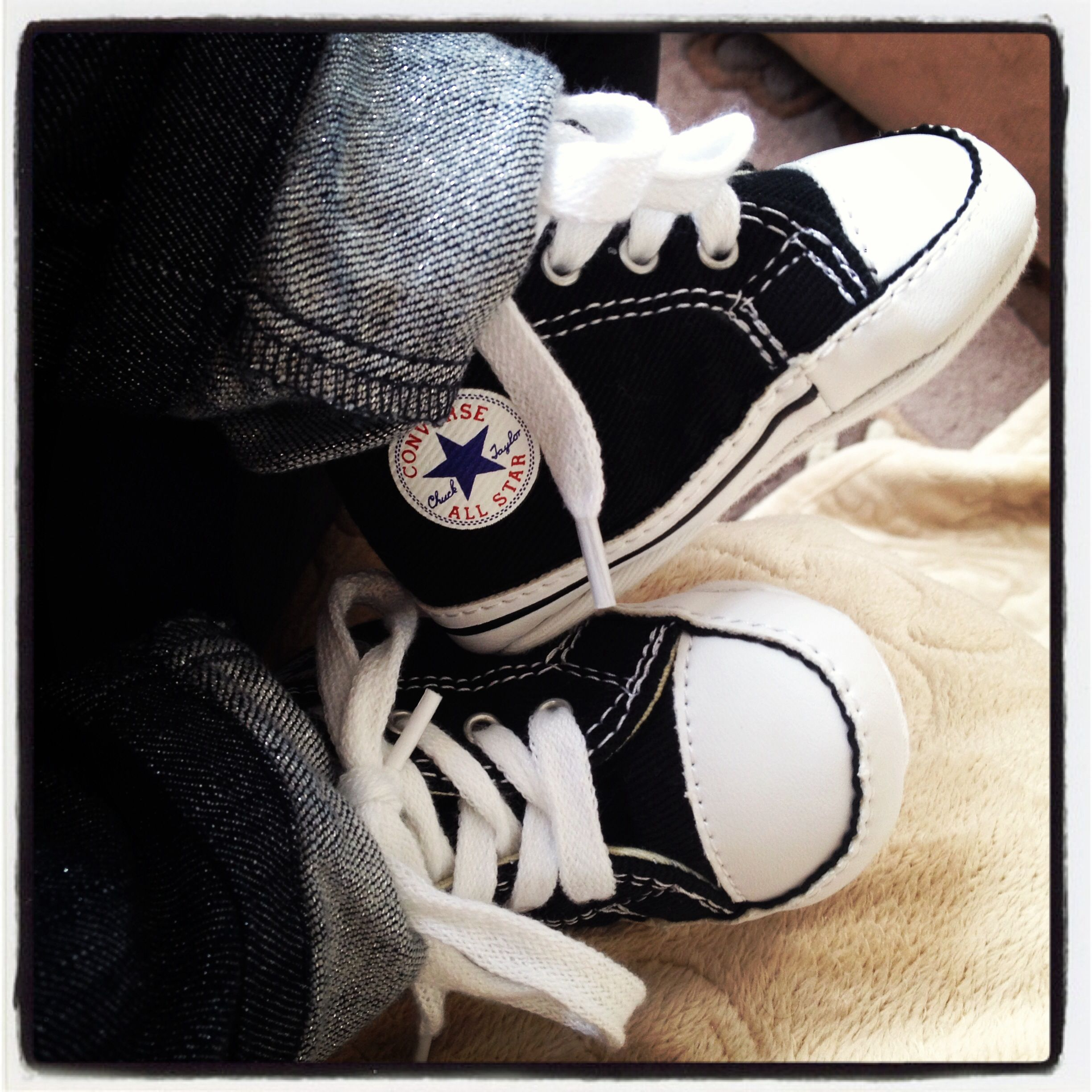 baby converse shoes my daughters pinterest baby. Black Bedroom Furniture Sets. Home Design Ideas