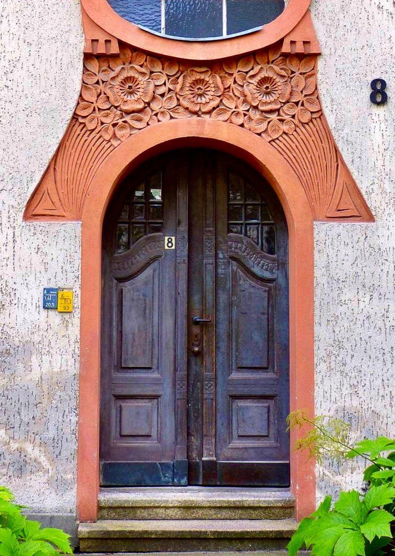 Lichterfelde, Berlin, Germany | Unique Doors | Pinterest | Türen ...