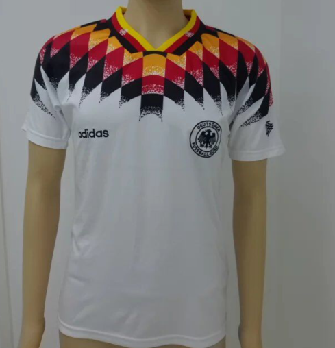 Germany 1994 Home Men Soccer Retro Jersey Personalized Name And Number Soccer Jersey Tracksuit Tops Soccer