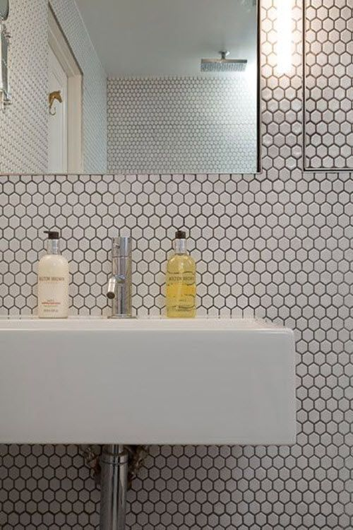 hexagon bathroom tile small hexagon bathroom tiles best hex tile ideas on hexagon  tile bathroom floor