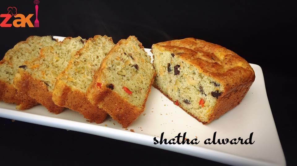 كيكة مالحة لأحلى فطور وبالخطوات المصورة زاكي Sweet Pastries Arabic Food Food