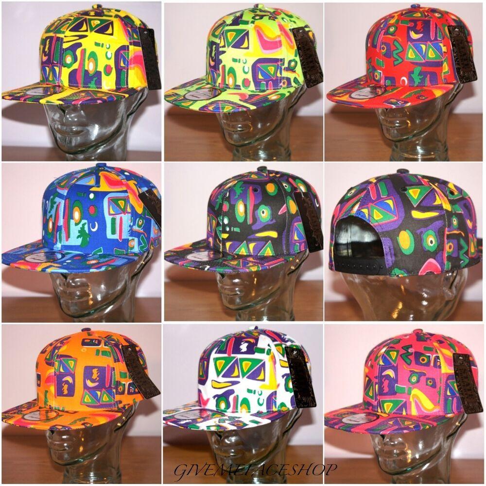 Fresh Prince Flat Peak Fitted Hats State Property Retro Kids Supreme Aztec Snapback Caps