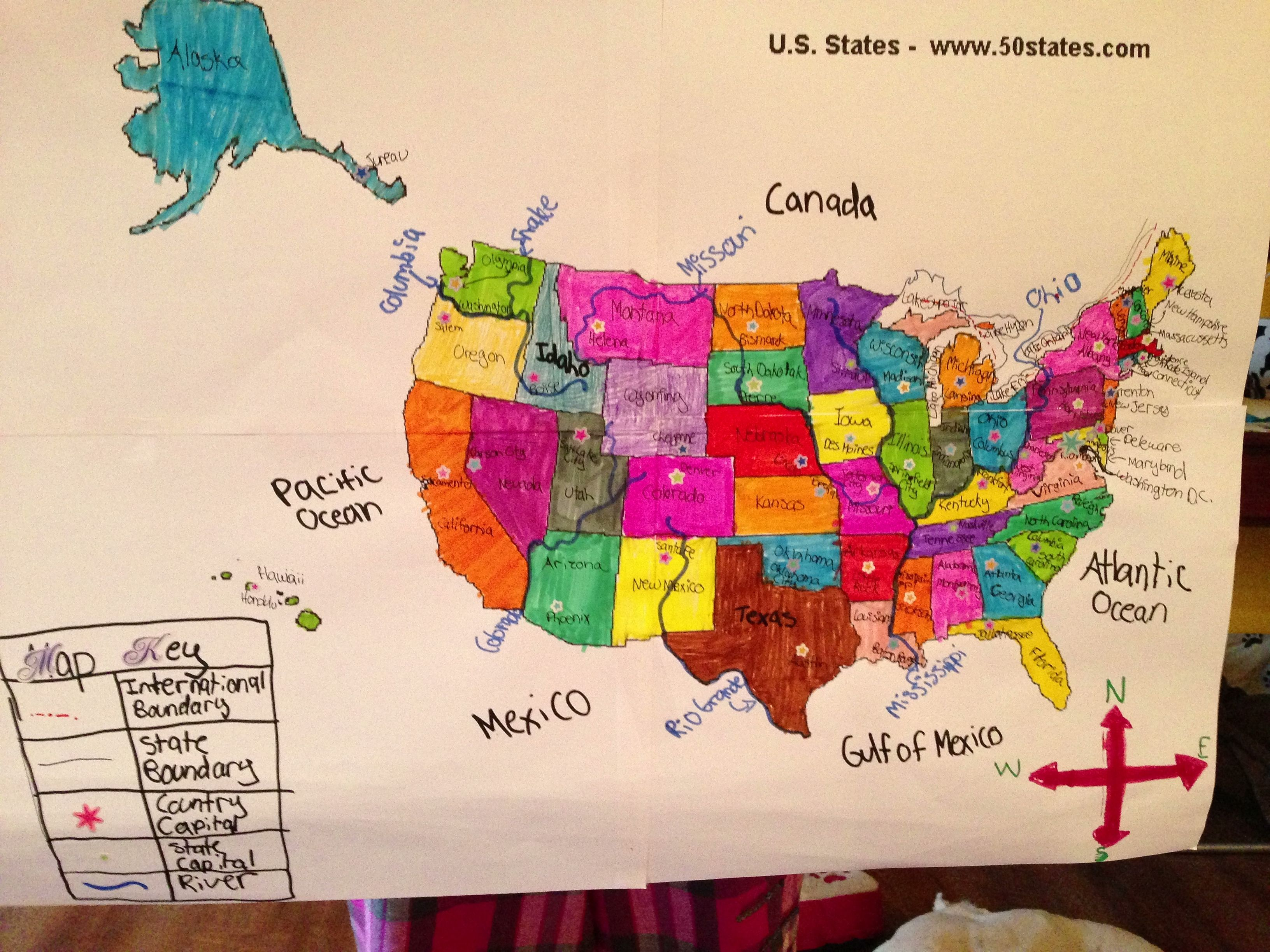 Us Map Project