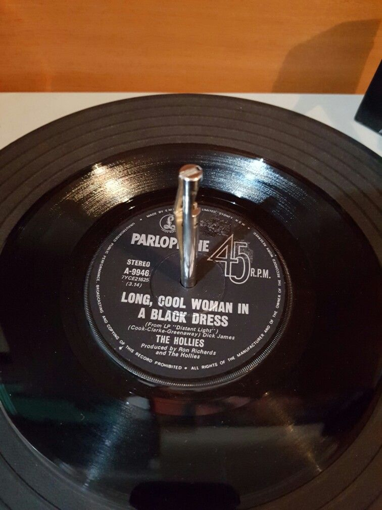 Vintage Vinyl The Hollies Long Cool Woman In A Black Dress Very Very