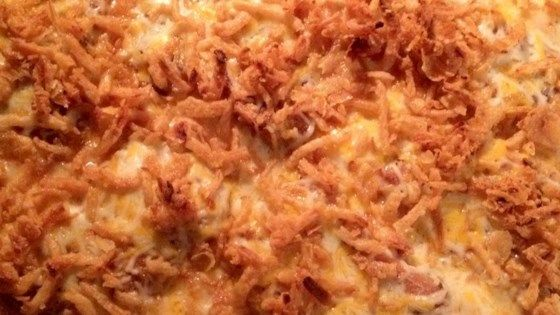 Pork Chop Potato Casserole #howtofryonions