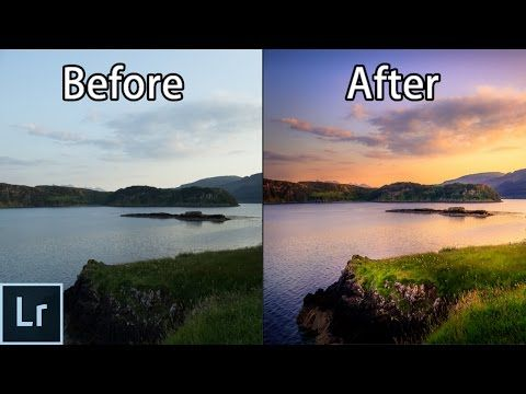How to Create STUNNING Sunset Photos - Adobe Lightroom 6 ...