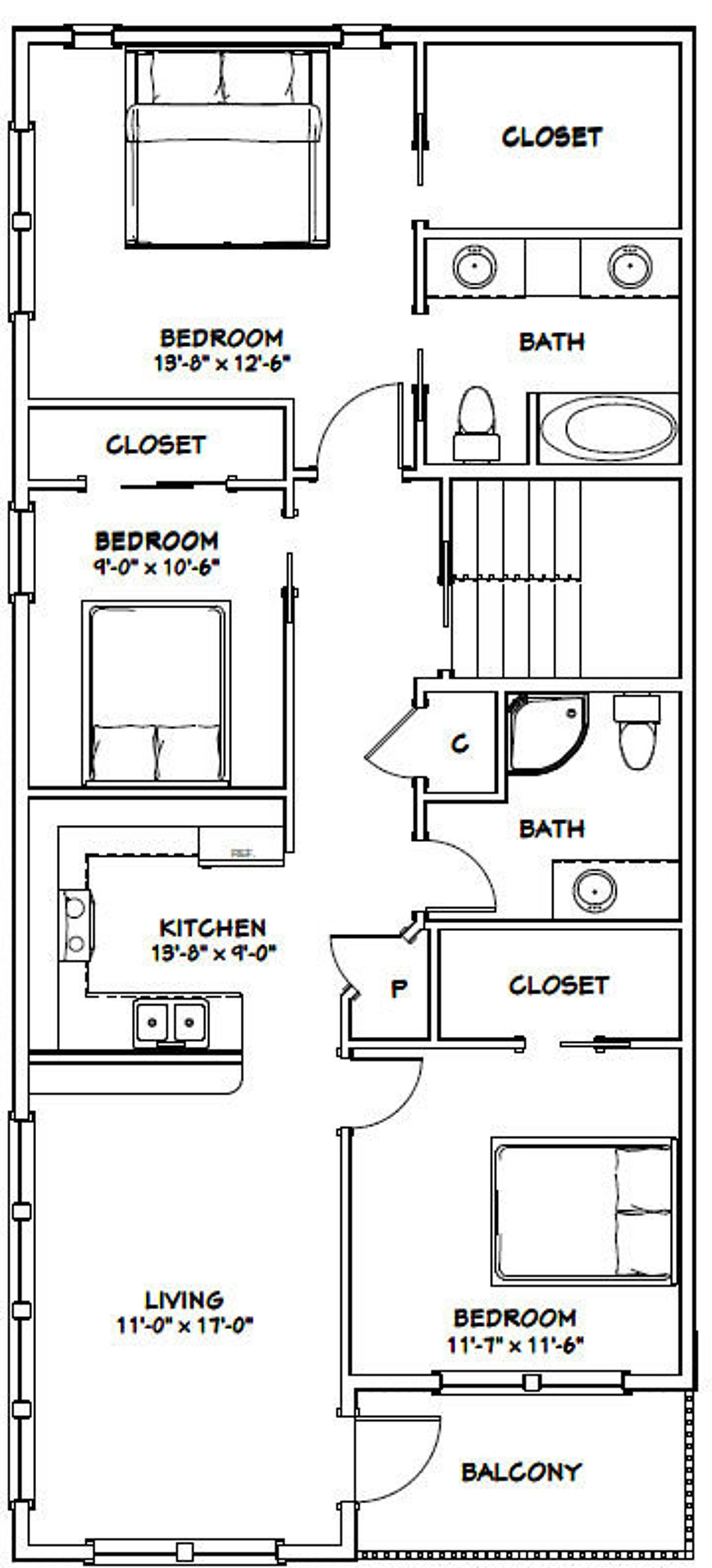44x48 house  4bedroom 3bath  1645 sq ft  pdf