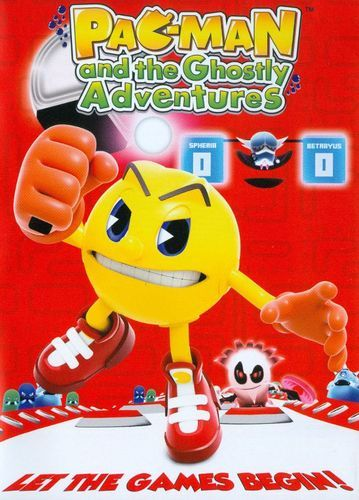 pac man and the ghostly adventures let the games begin dvd pac