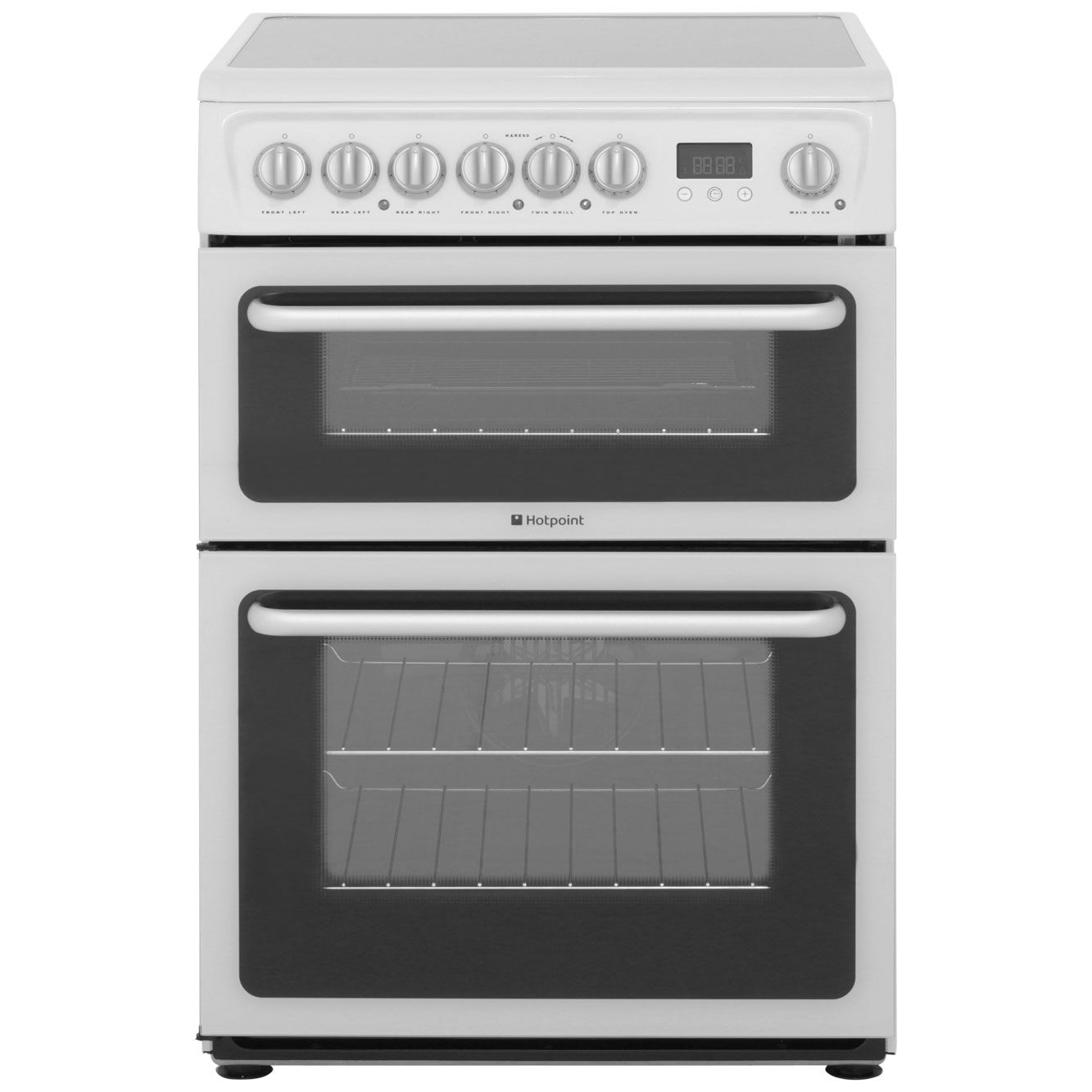 Medium image of hotpoint freestanding electric cooker   hare60p   ao com    339 00