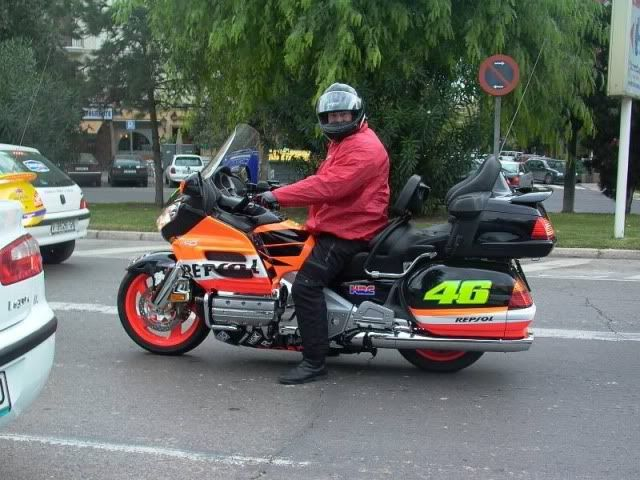 Repsol Honda (Goldwing!)... the real reason Casey Stoner departed MotoGP at the height of his powers was because of the 'dumbing down' (horrible phrase) of the bikes in motogp. This is what he meant (probably)