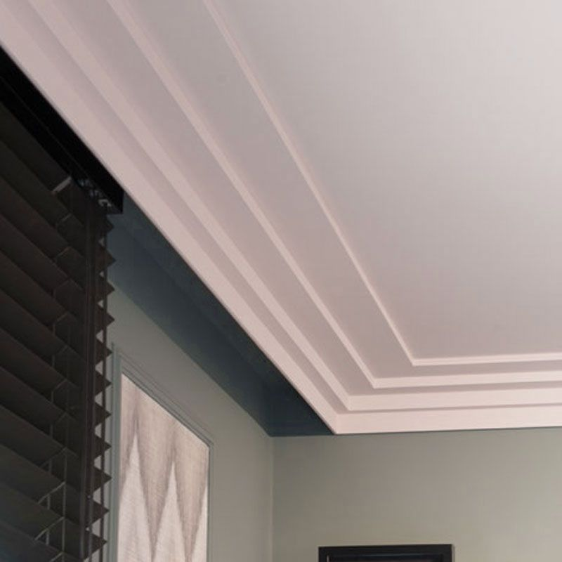Medium Chicago 3 Step Crown Molding Modern Molding Crown Molding Modern Crown Molding Wall Trim