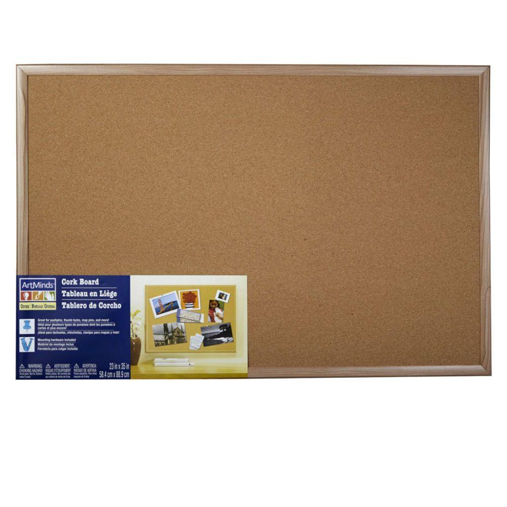 ArtMinds® Wood Framed Cork Board | Organization Projects | Pinterest