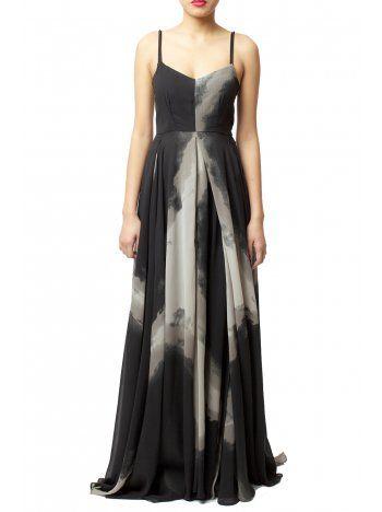 Religion tie dye maxi dress exclusive to asos