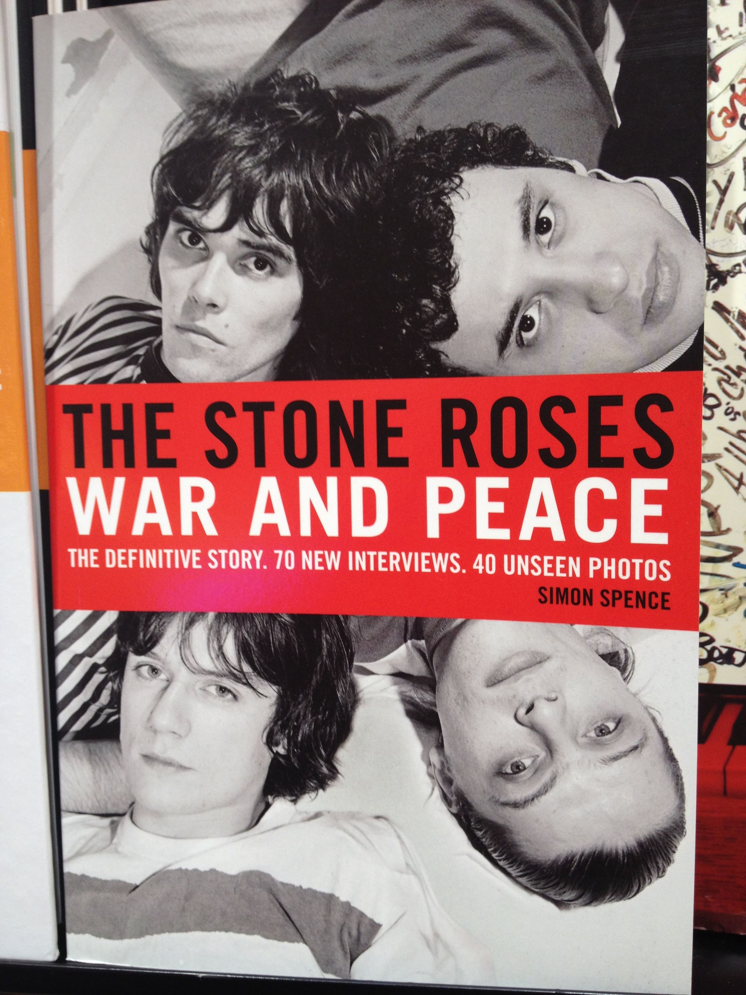 Libros Sobre Los Beatles War And Peace The Stone Roses Book Books Worth Reading