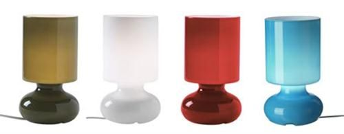 Blown Glass Ikea Lykta Table Lamp In Red And Other Colors Ten