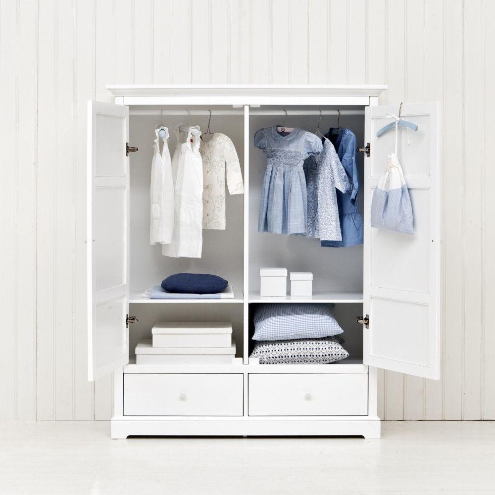 Oliver Furniture Barngarderob med två dörrar H152