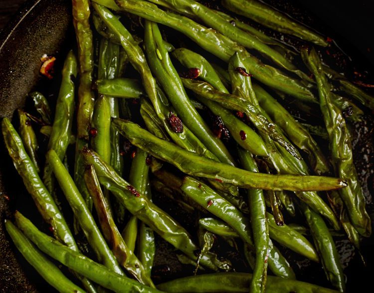 Amazing green beans asian recipe