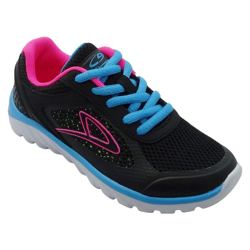 01117bb28 Big Girls  Impact Performance Athletic Shoes C9 Champion - Black 2 ...