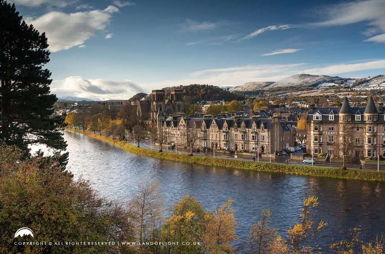 Inverness On The Banks Of River Ness In Nov 17 Inverness Scotland Beautiful Places Inverness