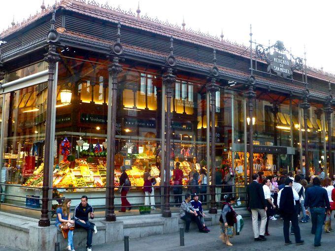 Best Food Markets Around The World Mercado San Miguel Madrid Madrid Spain Mercado San Miguel