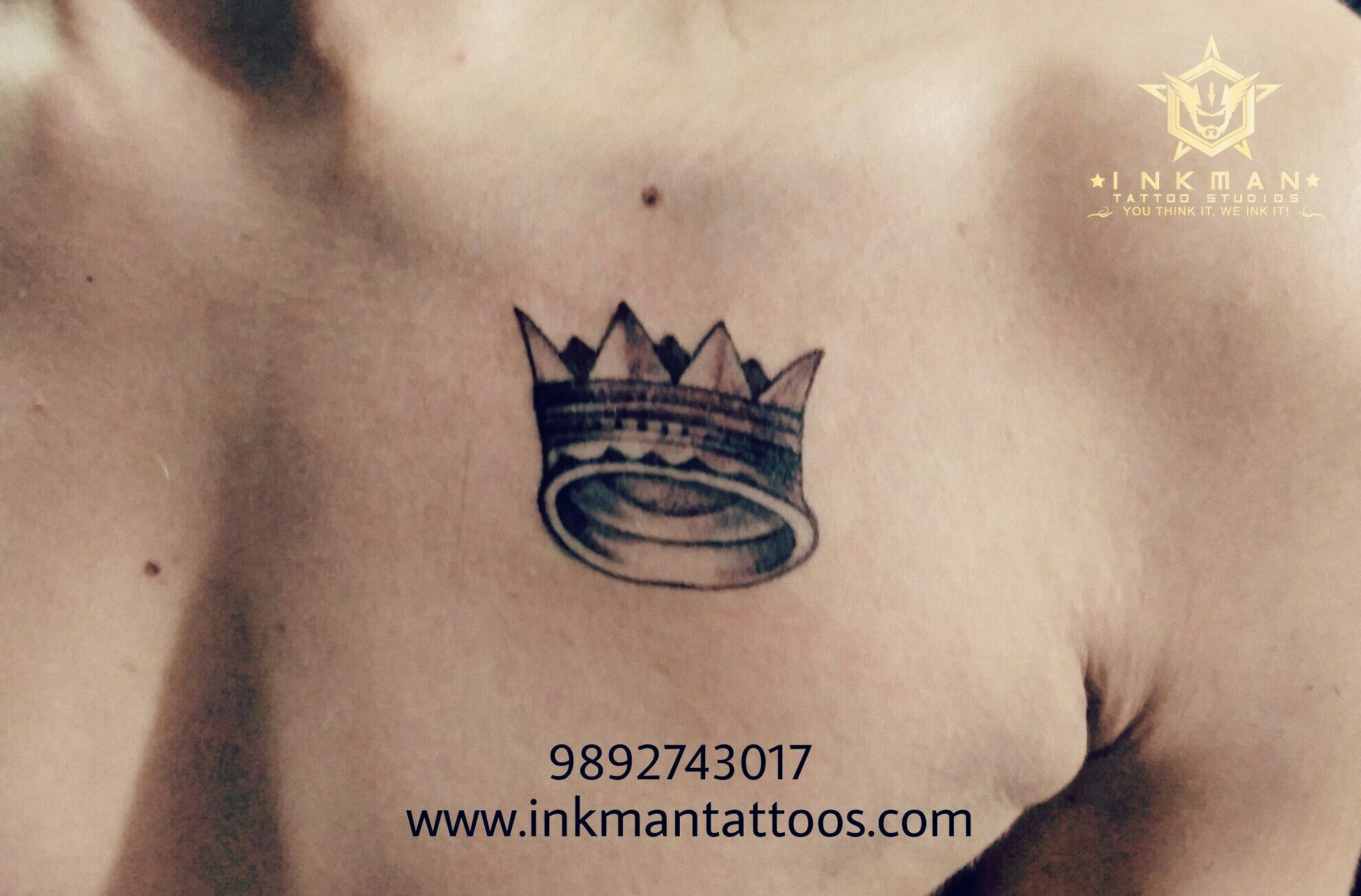 Crown Tattoo | Crown Tattoos | Tattoo in Thane | Mumbai ...