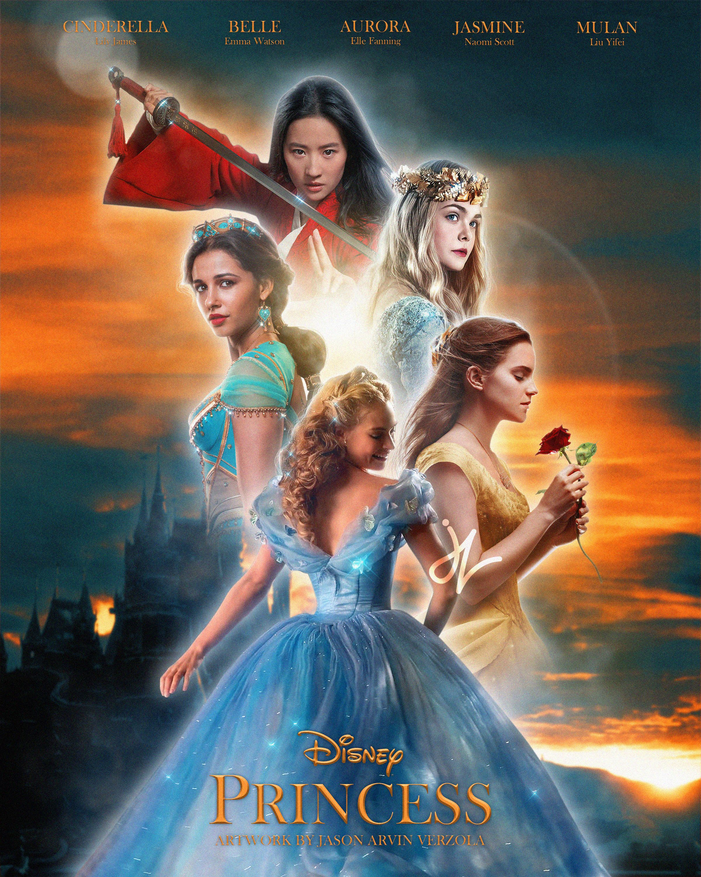 Disney S Live Action Princesses Lily James As Cinderella Emma