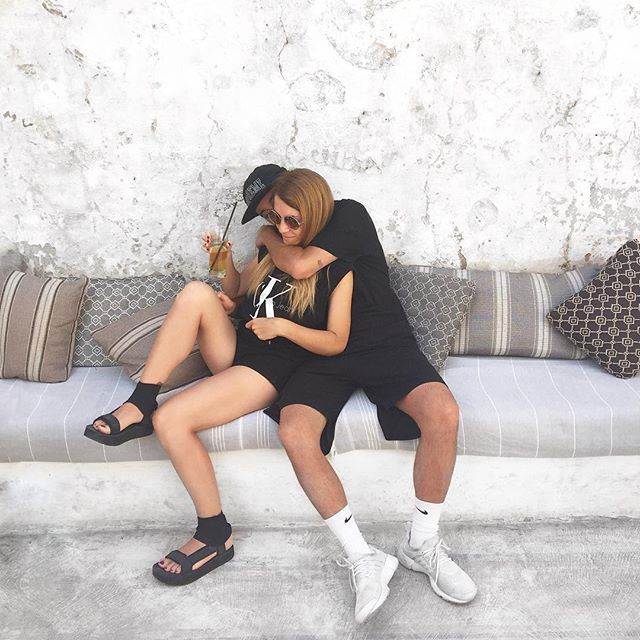 76f39bbcf8e4 Fredrica Esse and her boyfriend are all kinds of  goals as rocks our Danish  design on the streets of Italy.