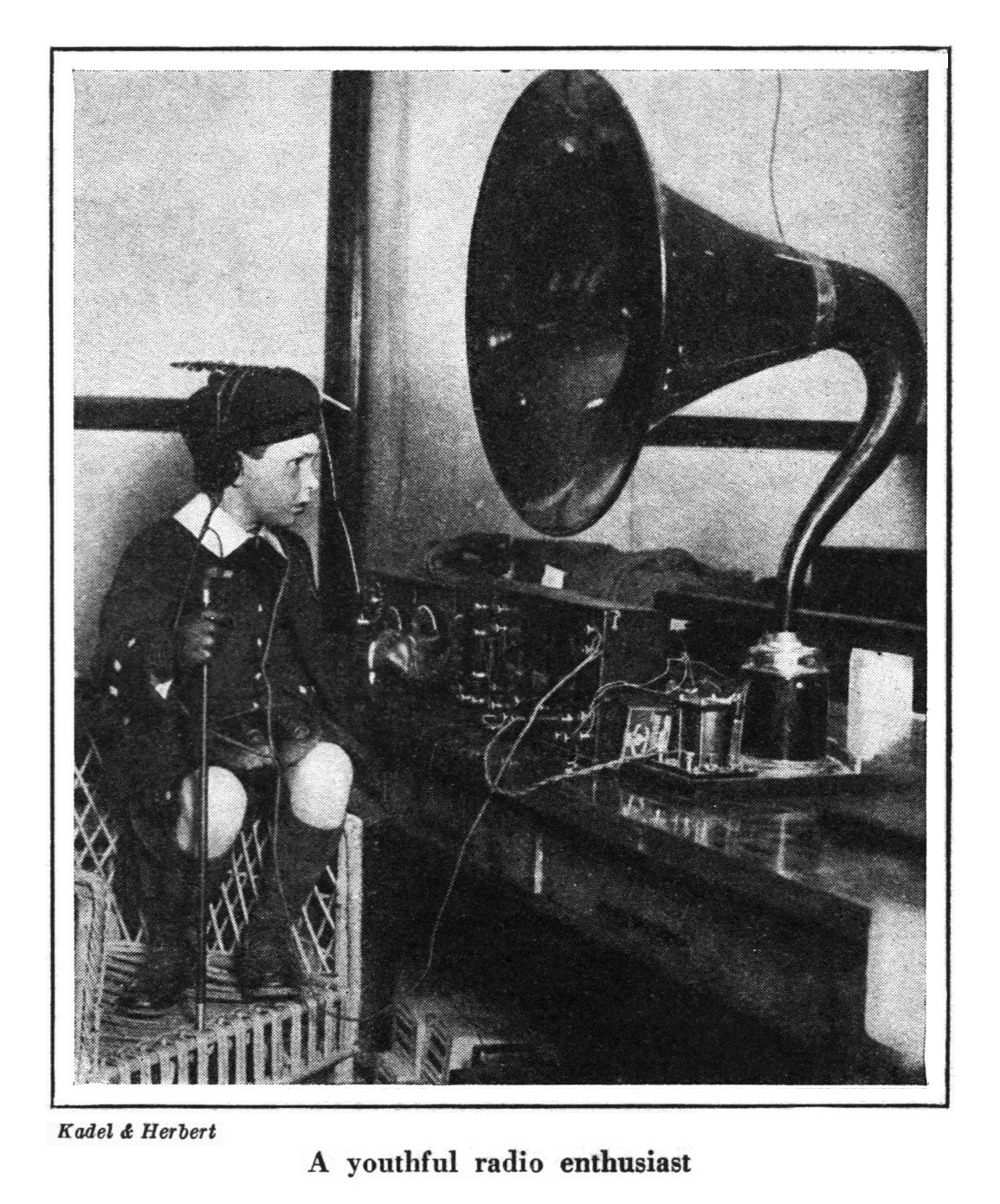 Radio! After several experimental devices were tested in