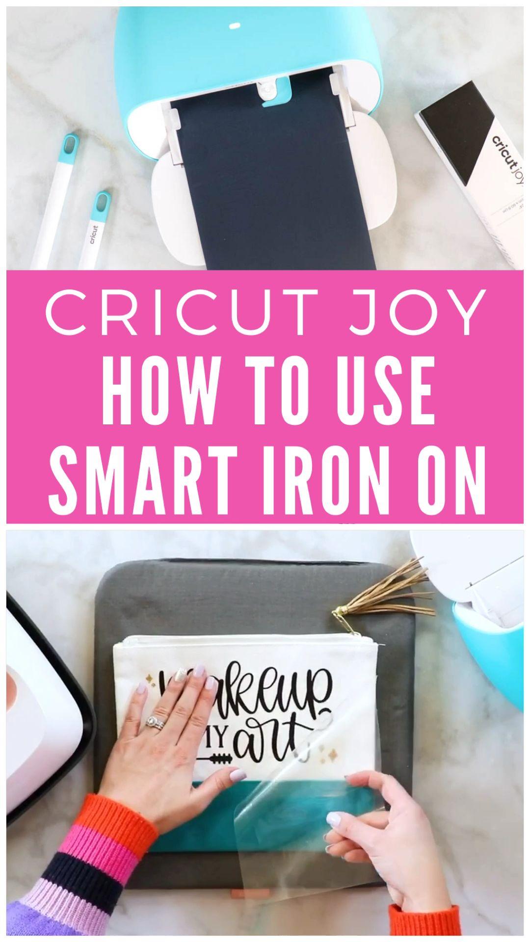 , How to cut and apply Cricut Joy Smart Iron-On, Crafts To Sell Blog, Crafts To Sell Blog