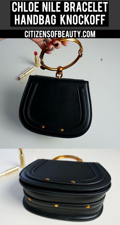 d6e95024f27bb Designer Dupe  Chloe Small Nile Bracelet Bag –  1