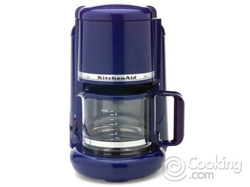 Cobalt Blue KitchenAid Coffee Maker | Com: KitchenAid KCM511BU 10 Cup  Programmable Coffeemaker,