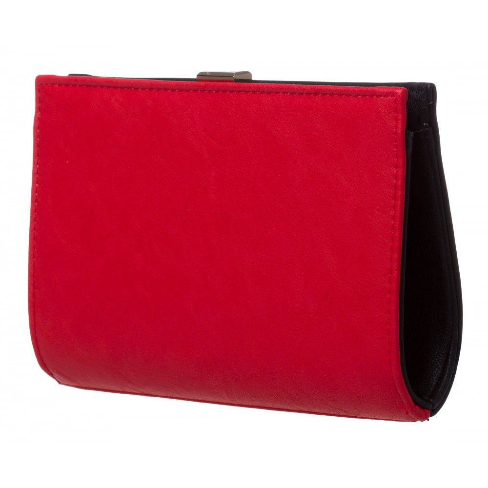 Mini Gia Structured Clutch - Valentine 20% Off in BLACK/RED #17196 - colette by colette hayman