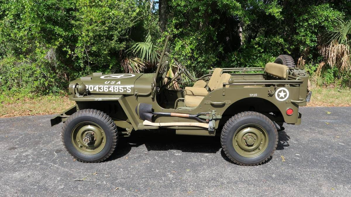 1945 Willys Mb For Sale 2249477 Hemmings Motor News Willys Mb Willys Jeep