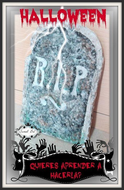 Cómo hacer una lápida para Halloween