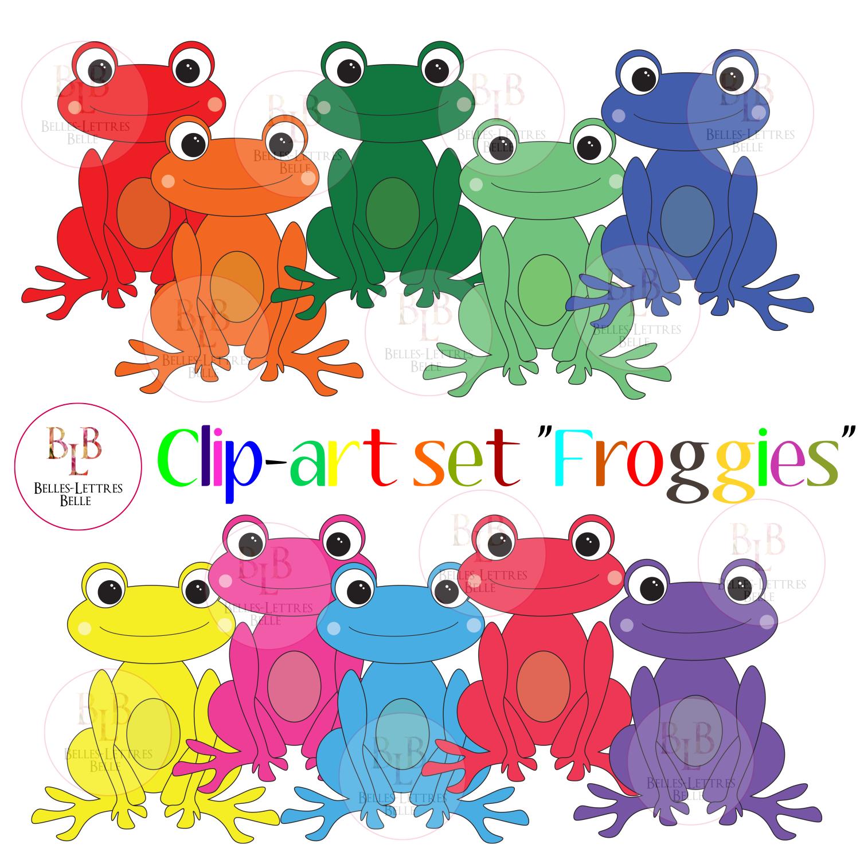 Clip Art Frogs