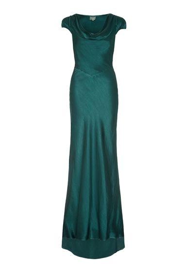 Sylvia Dress Emerald Sea DTO | Ghost.co.uk | Tiffanys | Pinterest