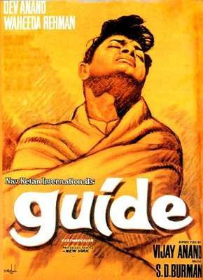 Image result for guide poster dev anand